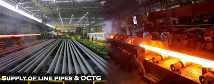 Carbon Steel, Stainless Steel, CuNi 90/10 Line Pipes & OCTG
